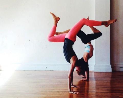 Anna Gannon No Mat Yoga