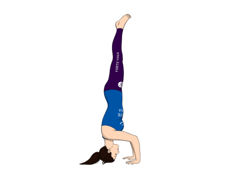 Tripod Headstand Yoga Pose