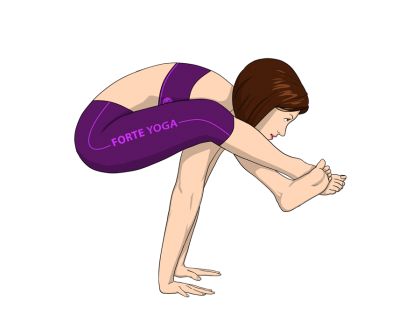 Shoulder Pressing Yoga Pose