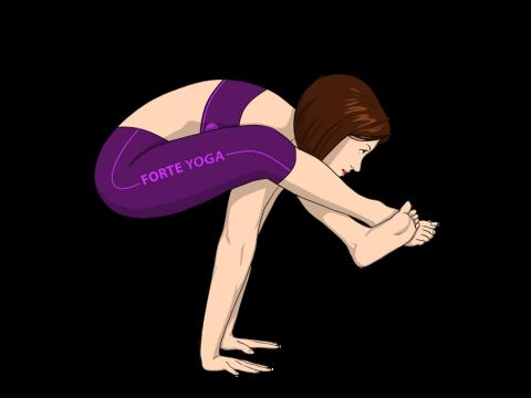 Shoulder Pressing Yoga Pose