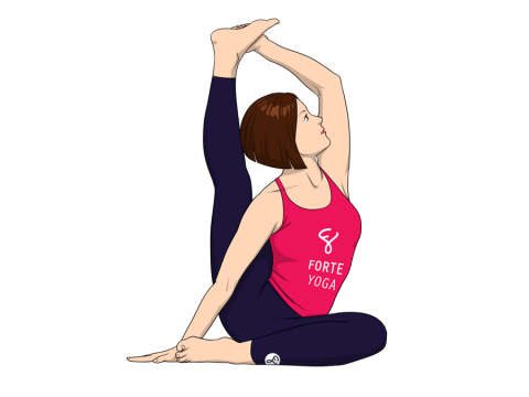 Compass Yoga Pose