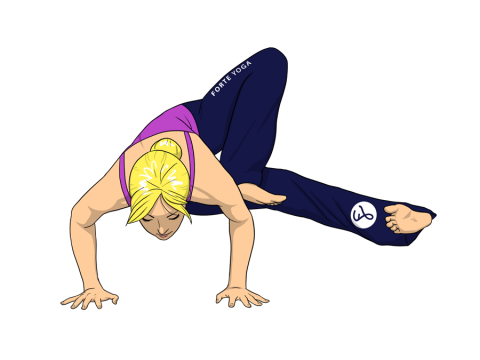 Dragonfly Yoga Pose