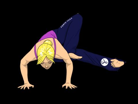 Dragonfly Yoga Pose