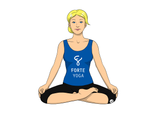 Half Lotus Yoga Pose