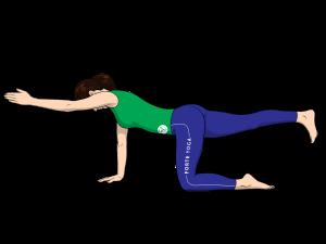 Hands and Knees Balance Yoga Pose