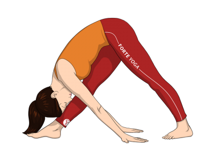 Intense Side Stretch Yoga Pose