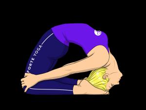 Little Thunderbolt Yoga Pose
