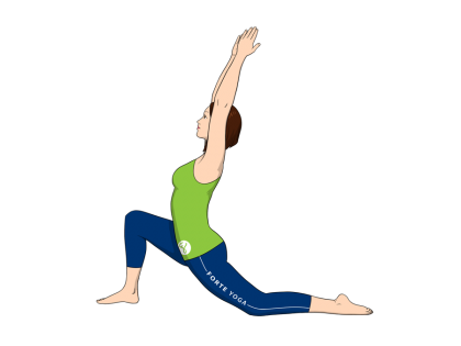 Low Lunge Yoga Pose