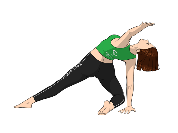 Revolving Beam Yoga Pose