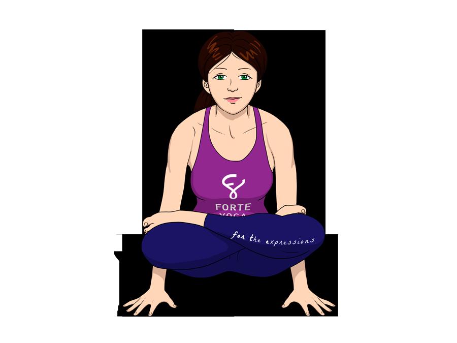 Scale Yoga Pose