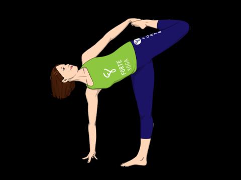 Sugarcane Yoga Pose
