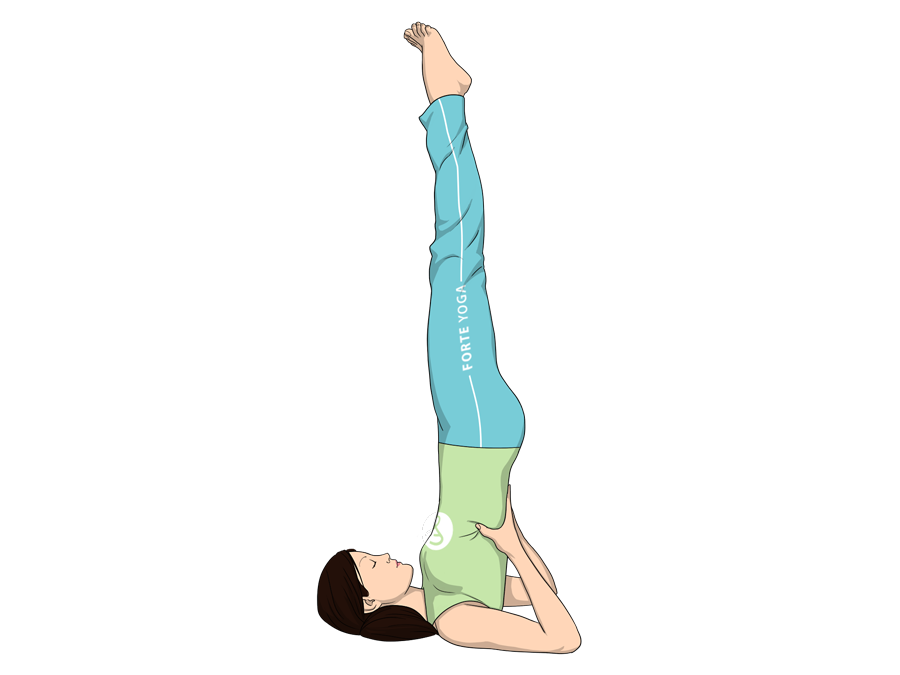 Supported Shoulderstand Yoga Pose Overview