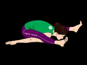Tortoise Yoga Pose